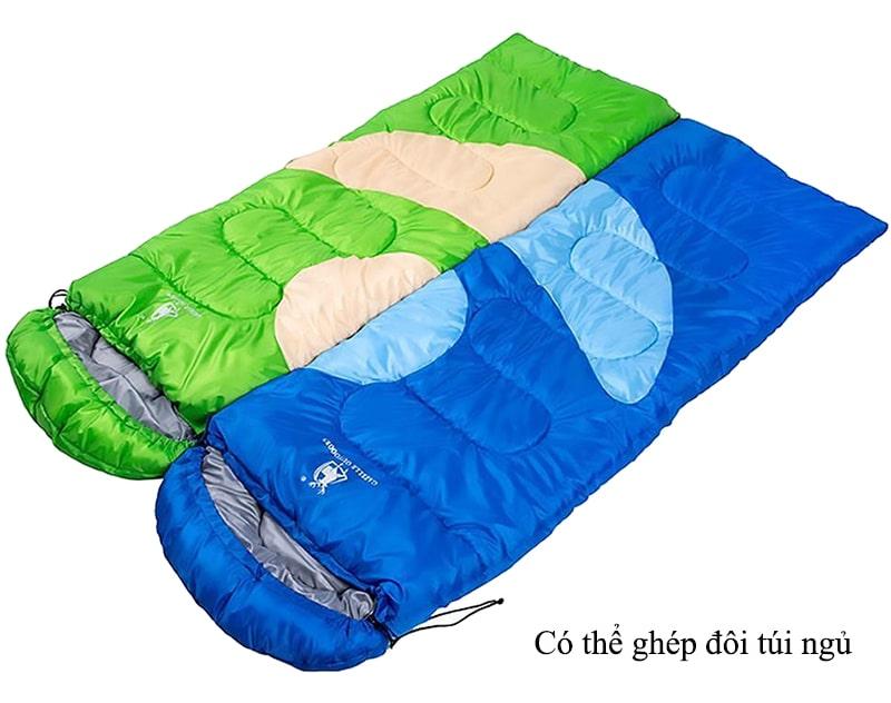Túi ngủ du lịch được ghép đôi