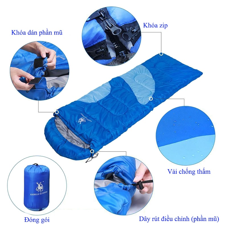 Chi tiết túi ngủ văn phòng GL3111 TP.HCM